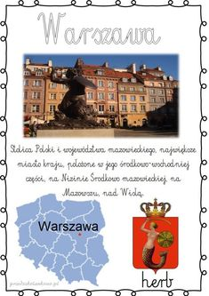 Herb, Activities For Kids, Education, Geography, Speech Language Therapy, Historia, Paper, Polish, Cuba