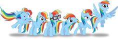 Colors of the Rainbow Dash
