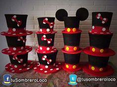 Sombrero loco mickey dulcero