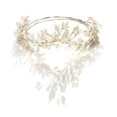 Silver Hair Vine Bridal Headpiece Silver Wedding by curtainroad