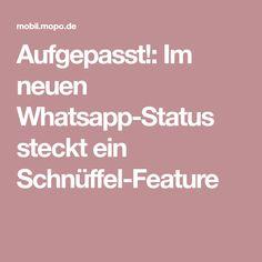 Aufgepasst!: Im neuen Whatsapp-Status steckt ein Schnüffel-Feature