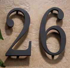 Atlas Homewares - Traditionalist House Numbers - (Black) - The Hardware Hut What's Your Number, House Address, Exterior Front Doors, Door Knockers, House Numbers, Curb Appeal, Home Goods, Home Improvement, Sweet Home