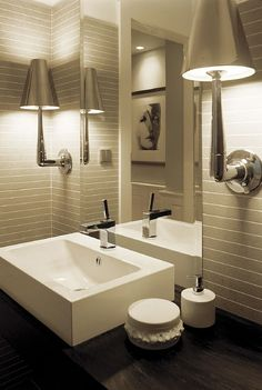 Guest Bathroom & Lighting fixtures are insanely amazing!