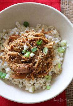 Crock Pot Sesame Honey Chicken | Skinnytaste