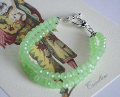 Sea Foam green bracelet