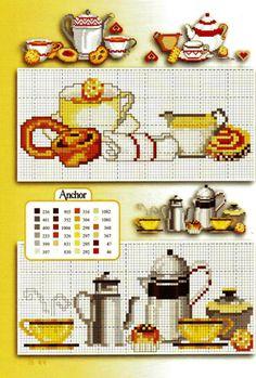 Ponto cruz: Cozinha Graficos Ponto Cruz.