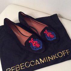 🆕💯Rebecca Minkoff flat shoes size 6 A Brand-new, without box. Rebecca Minkoff Astro shoes. Size 6 ( fits size 5.5) Rebecca Minkoff Shoes Flats & Loafers