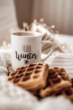Hallo Winter – Winter Vibes – Hello Winter – Winter Vibes – there Christmas Feeling, Cozy Christmas, Christmas Time, Christmas Cookies, Christmas Tumblr, Instagram Christmas, Christmas Coffee, Christmas Ideas, Christmas Crafts