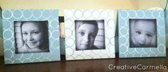 Aprenda como decorar porta-retratos com rolo de papel higiênico