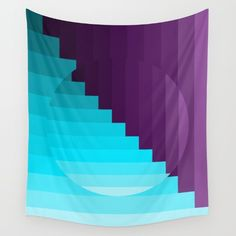 Available in three distinct sizes, our Wall Tapestries are made of 100% lightweight polyester with hand-sewn finished edges. Featuring vivid colors and crisp lines, these highly unique and versatile tapestries are durable enough for both indoor and outdoor use. Machine washable for outdoor enthusiasts, with cold water on gentle cycle using mild detergent - tumble dry with low heat. Wall Tapestries, Tapestry, Ipad Tablet, Hand Sewn, Vivid Colors, Purple, Blue, Crisp, Viola