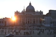 The sun sets on another pontificate: Pope Benedict XVIth steps down today after leading the Catholic Church for eight years. Pope Benedict is the first Pope to retire since 1415. Photograph: Oli Scarff/Getty Images