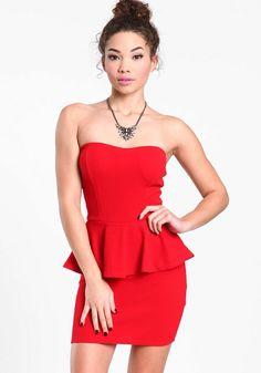 Stalk My Style: Peplum Perfection | Classy white dress, White ...