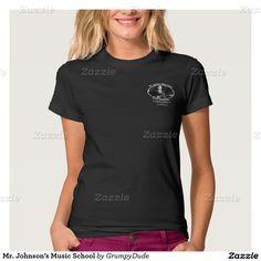 Mr. Johnson's Music School Shirts
