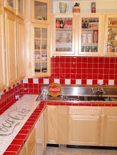 A Coca-Cola Kitchen... wow.... cool!