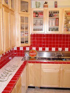 A Coca-Cola Kitchen... wow.... cool!