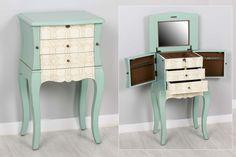 Mueble joyero en dos tamaños y varios diseños, ¡reserva el tuyo en A Lolos Deko Donostia! #decoracion #vintage #mint