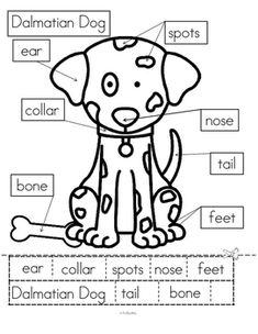 Dogs Theme Math and Literacy Activities, Printables and Ce