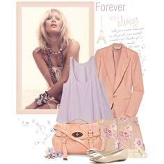 Forever and always, created by chloe89 on Polyvore