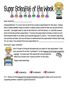 First Grade O.W.L.s: SUPER SCIENTIST
