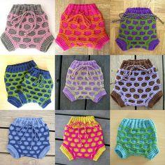 Strikk bleiebukser i ull | Strikkeoppskrift.com Baby Crafts, Knitting Projects, Turtle, Crafty, Blouse, Pattern, Handmade, Shopping, Google