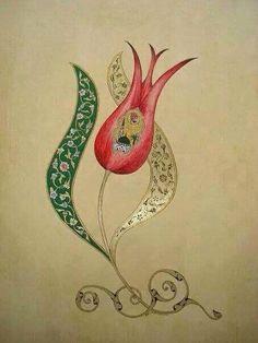 Hat sanatı Islamic Paintings, Turkish Art, Turkish Tiles, Islamic Art Calligraphy, Calligraphy Alphabet, Arabic Art, Marble Art, Hand Embroidery Designs, Illuminated Manuscript