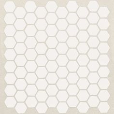 American Olean 10-Pack 10-1/2-in x 12-1/4-in Satinglo Ice White Thru Body Porcelain Mosaic Floor Tile