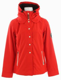 Holden Poppy Ski Snowboard Jacket Cardinal Red Womens Sz S FABRIC: Custom Plaid. Recycled Poly Lining. DWR Recycled Taffeta. 80/20 PFOA-Free DWR Water Repellency Treatment. Critically Taped Seams.  #Holden #Sports