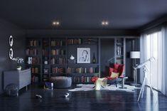 Salas de lectura o salas de estudio, colección