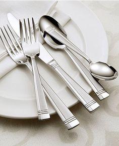 Oneida Amsterdam 50-Piece Flatware Set - Flatware & Silverware - Dining & Entertaining - Macy's