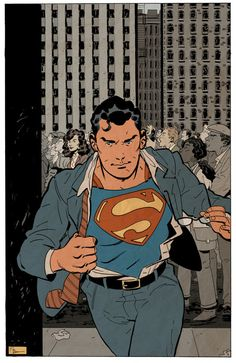 A Job For Superman by Evan Shaner Superman And Lois Lane, Superman Family, Superman Man Of Steel, Dc Comics Art, Marvel Comics, Jobs In Art, Clark Kent, Cinema, Graphic Novels