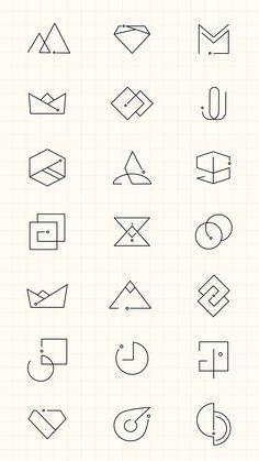 Web Design, Icon Design, Brand Design, Brand Identity Design, Arquitectura Logo, Type Logo, Inspiration Logo Design, Logo Minimalista, Logo Simple