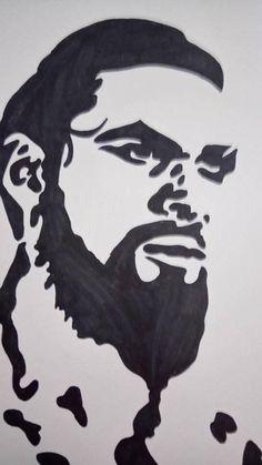 dessin  Khal Drogo
