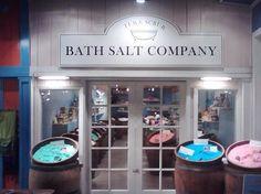 Tub & Scrub Bath Salt Company ~ didn't visit this store ~ next time!