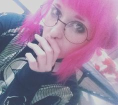 Over edited piece o' shiz  #follow #f4f #japanesefashion #l4f #l4l #pink #loser #meh #moe #anime #otaku #alternativegirl #cute #kawaii #kawaiigirl #harajuku #harajukugirl #otakugirl #dropdead #girlswithpiercings #glasses #bodymods #plugs #septumpiercing #uk #pastelkawaiih #aspiringmodel by kawaiinyaah