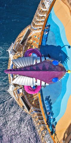 Symphony of the Seas, a perception remixing, memory maxing mic drop. Our newest, biggest cruise ship with all the greatest hits, plus revolutionary new firsts. Start your next vacation adventure here. Royal Caribbean Ships, Royal Caribbean Cruise, Biggest Cruise Ship, Symphony Of The Seas, Royal Caribbean International, Vacation Planner, Cruise Travel, Outdoor Recreation, Travel Aesthetic