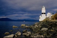 Cloch Lighthouse on the Clyde, Gourock, Scotland   Flickr - Photo Sharing!