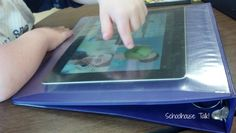 Schoolhouse Talk!: DIY iPad screen protector