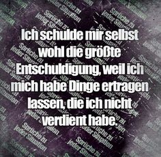 Stimmt - New Ideas Psychological Stress, German Quotes, Feeling Sad, True Words, Things To Think About, Life Quotes, Inspirational Quotes, Positivity, Thoughts