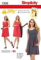 Misses' Vintage Jiffy® Reversible Wrap Dress
