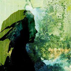 "Saatchi Art Artist eva christin laszka; Painting, ""Anikó"" #art"