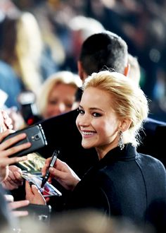 "Jennifer Lawrence at the premiere of ""Mockingjay part.2"" in Berlin, 2015."