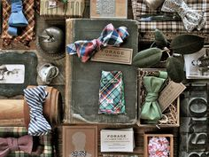 forage bow ties inspiration board