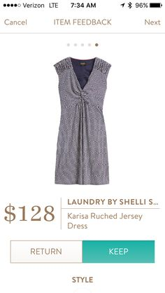 Stylist, this looks like it would be so flattering! Would love it or something like it in my next fix!