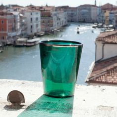 A Murano-glass tumbler from Giberto Venezia