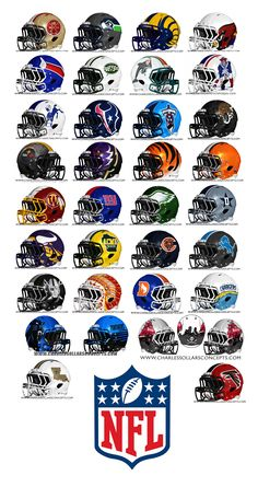 NFL Concept Helmets