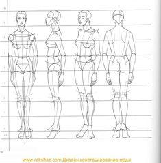 como dibujar figurines de moda - Buscar con Google