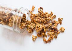 Savory Granola Recipe - with walnuts, sesame, pistachio & fennel