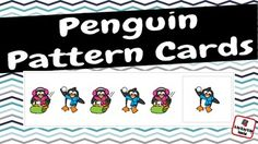Add these cute penguin pattern cards to your math center during your winter or penguin theme.My set includes 30 pattern cards and 48 picture cards.6 AB pattern cards6 ABB pattern cards6 AAB pattern cards6 ABC pattern cards6 AABB pattern cards16 penguin on sled cards16 penguin throwing snowball cards16 standing penguin cards  *Use the picture cards to make your own patterns!* Clipart by: Clipart Queen @ http://www.teacherspayteachers.com/Store/Clipart-QueenTeresa Lewis…