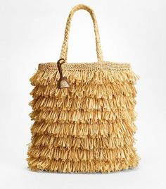 Love. Raffia tote from Tory Burch