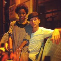 Immensely attractive interracial couple || #bwwm #wmbw